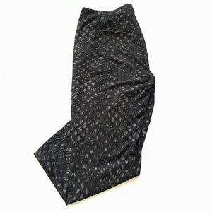 LULULEMON Black Printed Lounge Pants